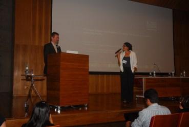 24/10. 24/10. Paul Spence, Conferência (debates). Foto: Jorge Viana.