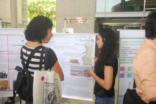 24/10. Márcia Abreu e Fernanda Brandão de Lara, Sessão de Posteres. Foto: Jorge Viana.