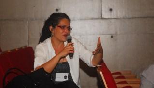 24/10. Maria Clara Paixão de Sousa, Mesa dos Historiadores (debates). Foto: Jorge Viana.