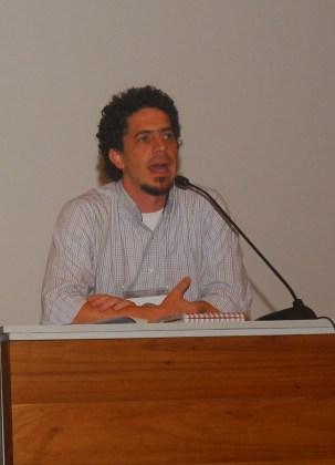 24/10. Álvaro Malaguti, Sessão de Debates. Foto: Jorge Viana.