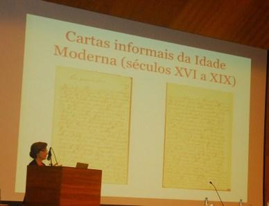 25/10. Rita Marquilhas, Mesa dos Linguistas. Foto: Jorge Viana.