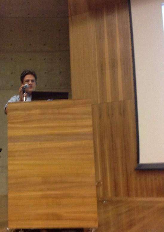 25/10. Patrício Nunes Barreiros, Sessão de Projetos. Foto: Dália Guerreiro.
