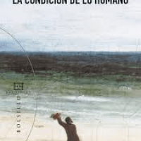 """Juan Miguel Palacios. """"La condición de lo humano""""."""