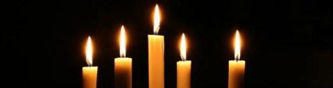 Prayer intention page