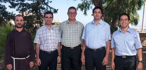 Five Men to be Ordained Deacons