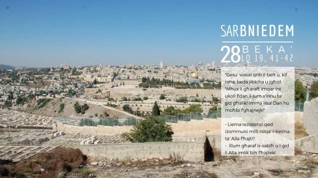 Kalendarju Avvent 28