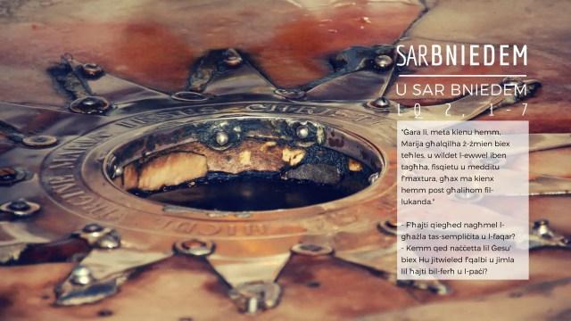 Kalendarju Avvent Sar Bniedem