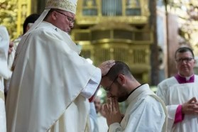 Ordination to the diaconate - laying of hands