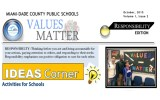 Values Matter Newsletter – Responsibility Edition