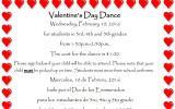 Valentines Day Dance – $1