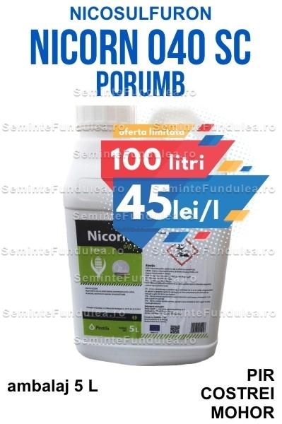 nicorn, erbicid porumb nicosulfuron, 100 l