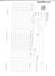 Payroll Form Government of Punjab front