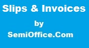 Business Slips & Invoices