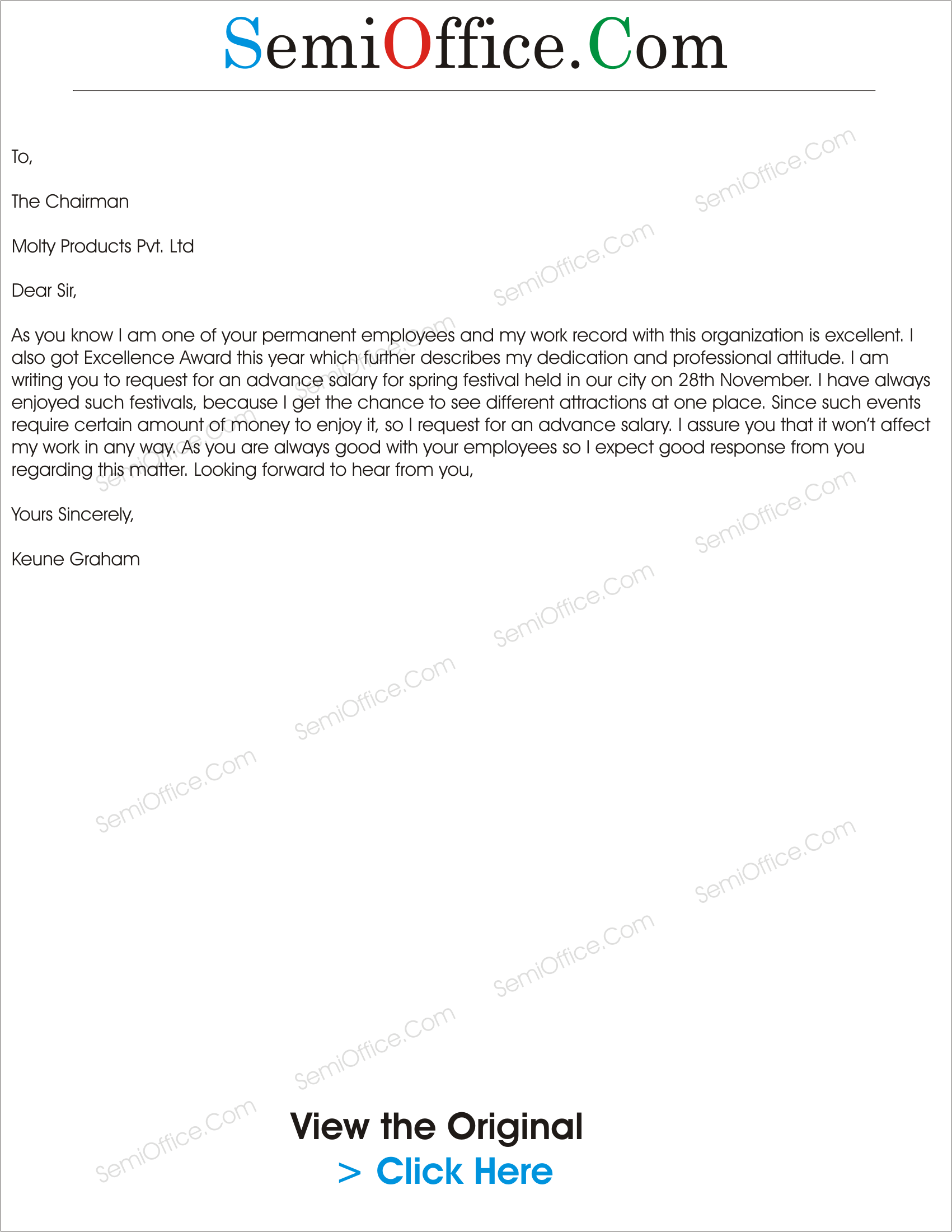 Application for advance salary for festival advance salary request letter for festival spiritdancerdesigns Choice Image