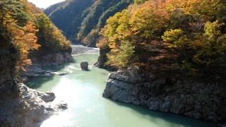 龍王峡で紅葉狩り!見頃の時期とアクセス