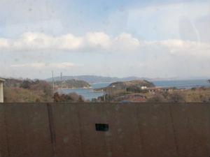 瀬戸大橋からの風景
