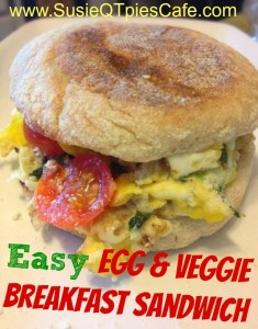 Easy Egg Veggie Breakfast Sandwich_jpg