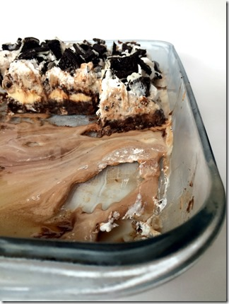 Oreo Brownie Ice Box Cake _3