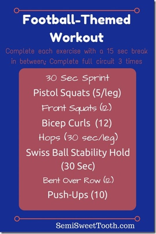 Football-Themed Workout