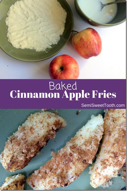 Baked Cinnamon Apple Fries