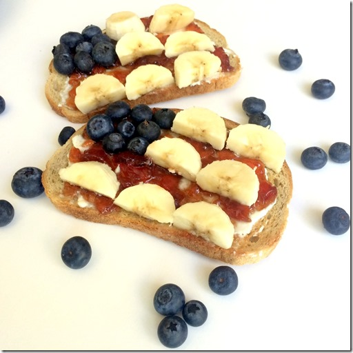 Patriotic Breakfast Toast _3
