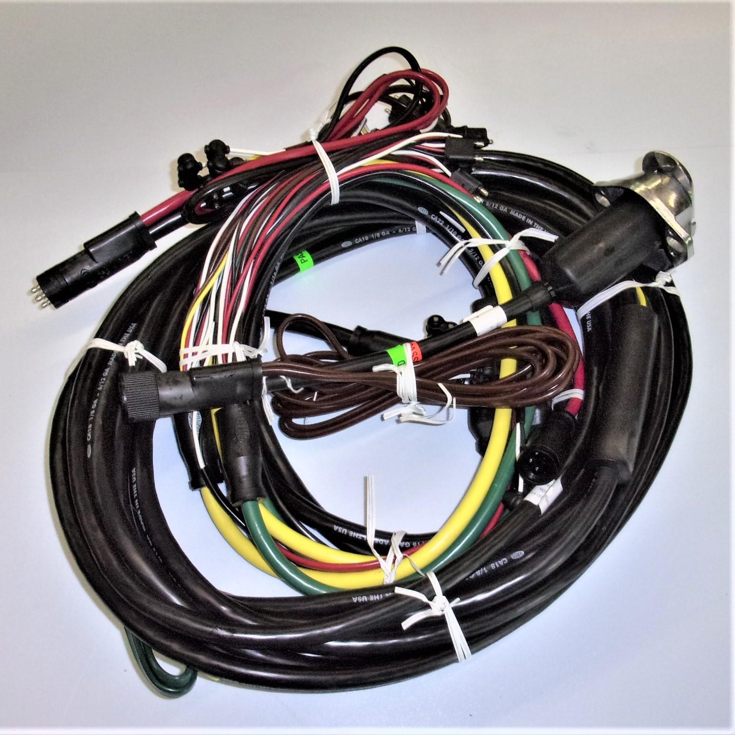 Universal 48 Trailer Wiring Harness Kit