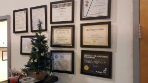 Technician Certifications at Status Transportation