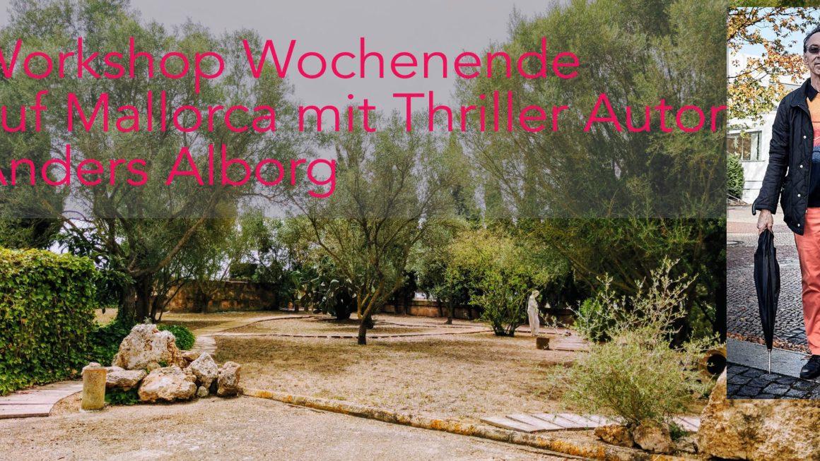 """Wochenendworkshop """"Spannend schreiben"""" mit Anders Alborg"""