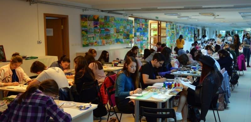 """Concursul național de creație plastică """"Arta – între talent și dăruire"""""""