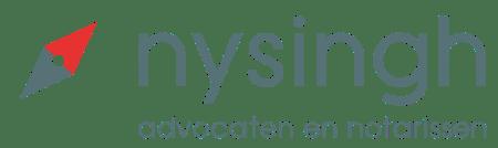 Nysingh Logo wit