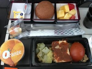 Vegan Meal Qatar Airways