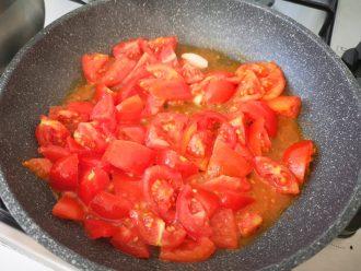 Trofie con gamberoni e pomodorini