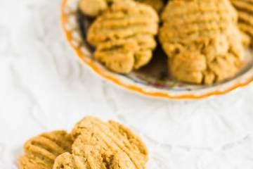 Biscotti leggeri con farina di riso e avena |ricetta vegana