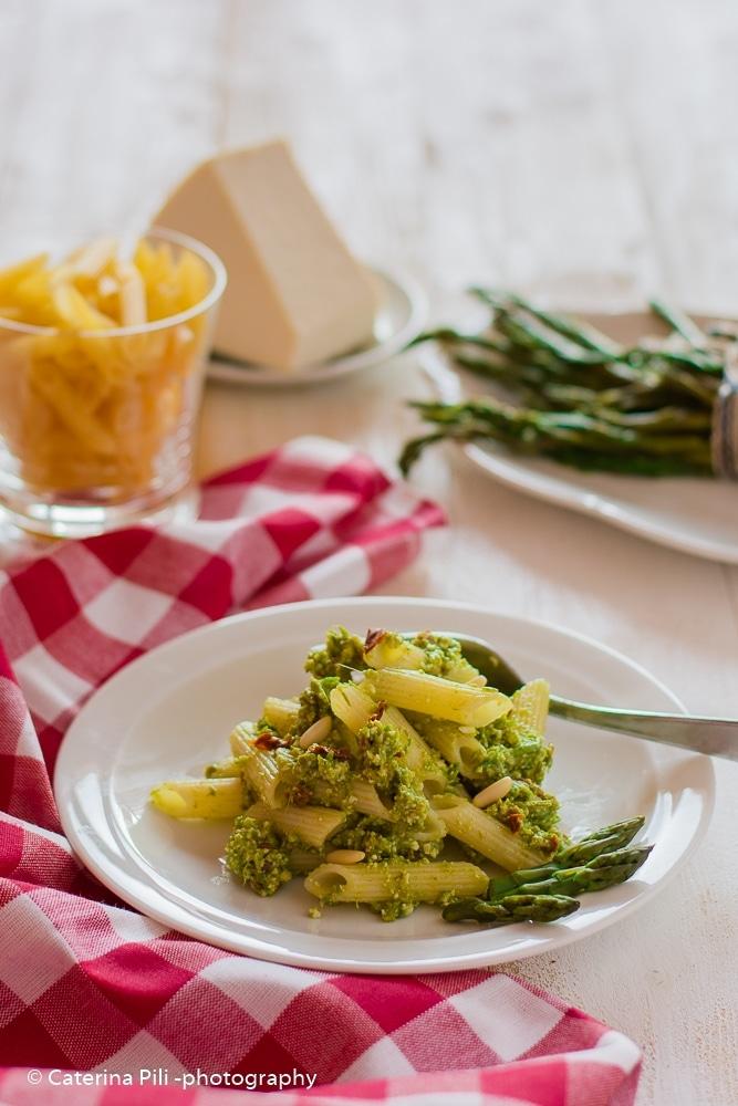 Pasta gluten free con pesto di asparagi | ricetta Bimby
