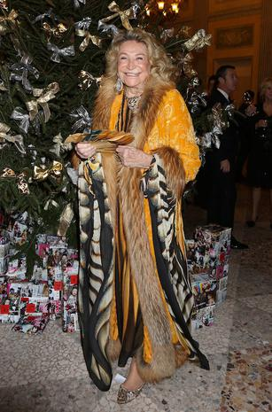 """MONZA, ITALY - DECEMBER 16: Marta Marzotto attends the """"Fondazione IEO - CCM"""" Christmas Dinner For on December 16, 2014 in Monza, Italy. (Photo by Vincenzo Lombardo/Getty Images)"""