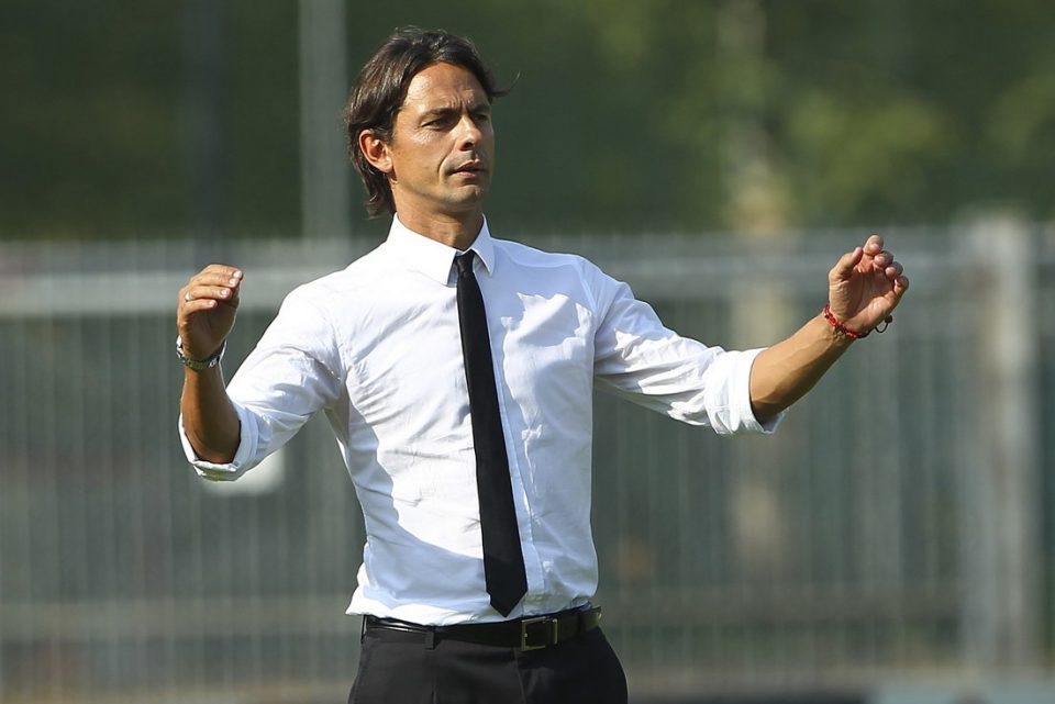 """Bologna Coach Inzaghi: """"On Paper There's No Contest Between Us & Inter"""""""