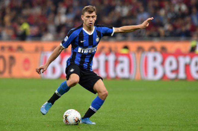 Inter Midfielder Nicolo Barella: