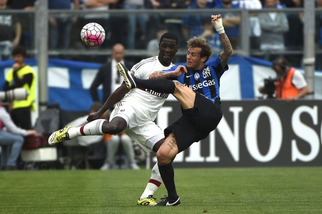 Zapata battles for a point that never came. | OLIVIER MORIN/AFP/Getty Images
