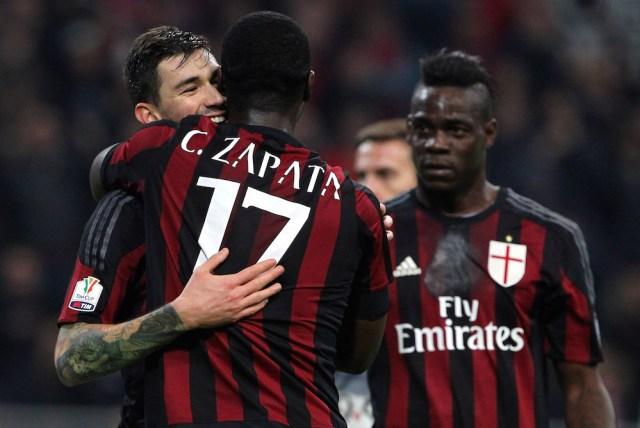 Zapata wants Milan stay   Marco Luzzani/Getty Images