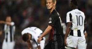 Honda may not be guaranteed San Siro stay   Filippo Monteforte/AFP/Getty