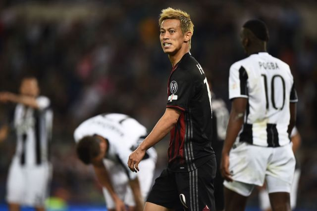 Honda may not be guaranteed San Siro stay | Filippo Monteforte/AFP/Getty
