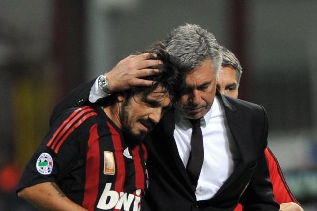 Gattuso Ancelotti