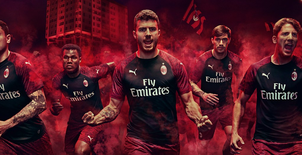 AC Milan third kit 2018/19
