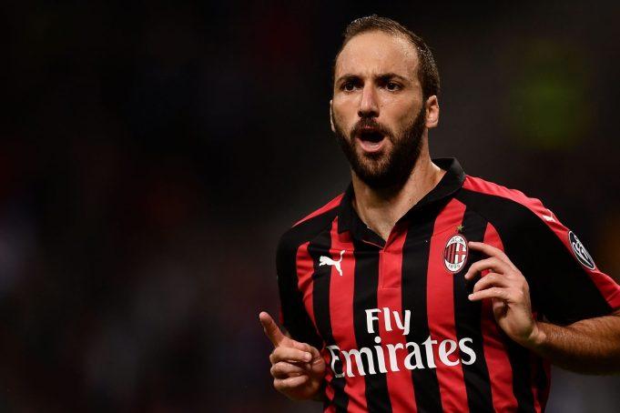 Higuain AC Milan