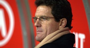 MILAN - DECEMBER 7: Fabio Capello, coach of Roma, watches the action during the Serie A match between AC Milan and Roma, played at the 'Giuseppe Meazza' San Siro Stadium, Milan, Italy on December 7, 2002. (Photo by Grazia Neri/Getty Images)