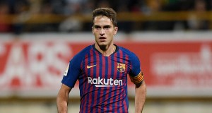 LEON, SPAIN - OCTOBER 31: Denis Suarez of FC Barcelona in action during the Spanish Copa del Rey match between Cultural Leonesa and FC Barcelona at Estadio Reino de Leon on October 31, 2018 in Leon, Spain. (Photo by Octavio Passos/Getty Images)