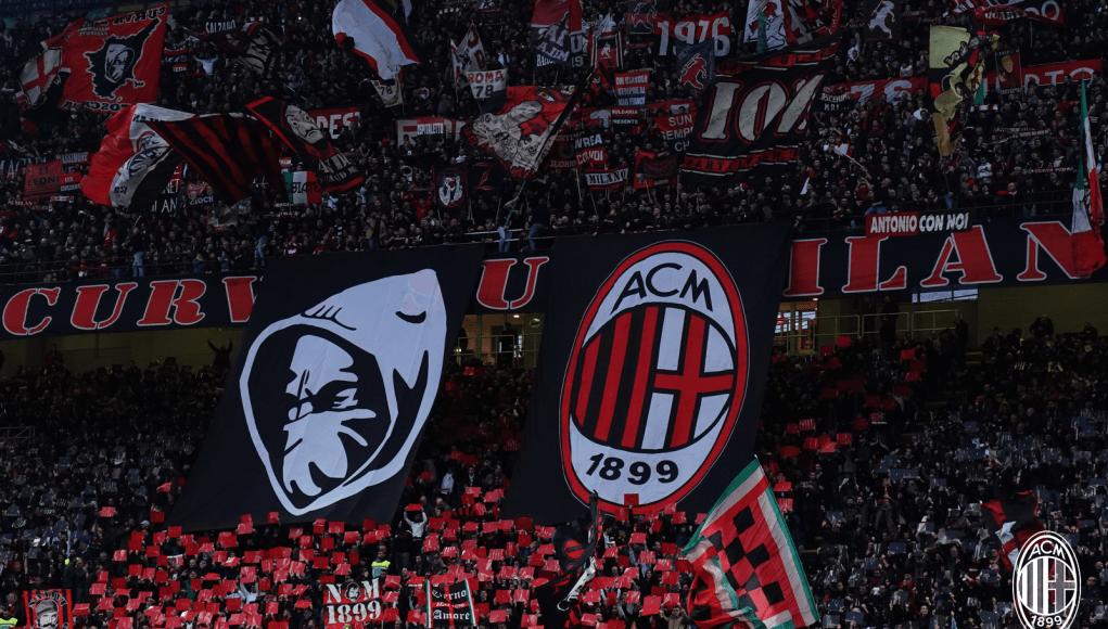 AC Milan fans Curva Sud