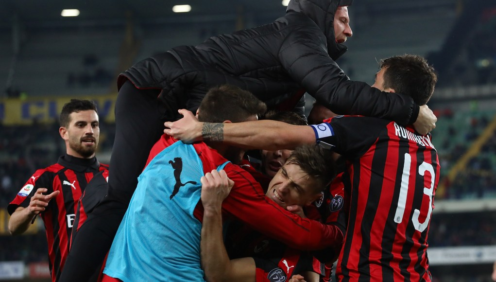 AC Milan goal Piatek