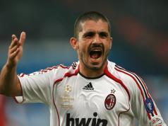 AC Milan's midfielder Gennaro Gattuso