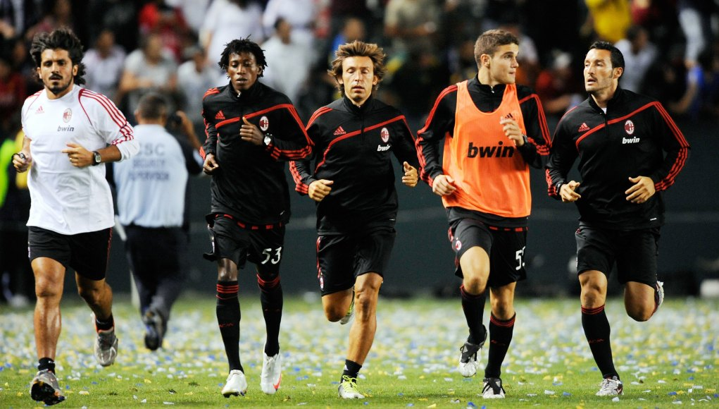 Andrea Pirlo Gennaro Gattuso AC Milan